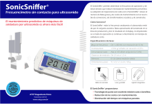 SonicSniffer ultrasonic frequency meter brochure